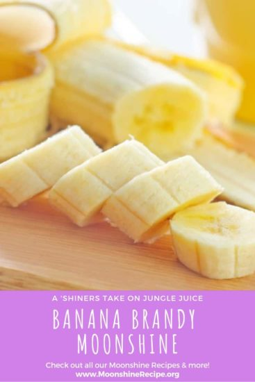Banana Brandy Recipe