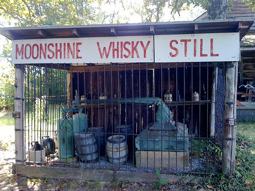 Corn Whiskey and Moonshine