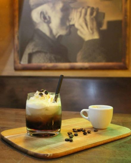 Amaretto Coffee Cocktail