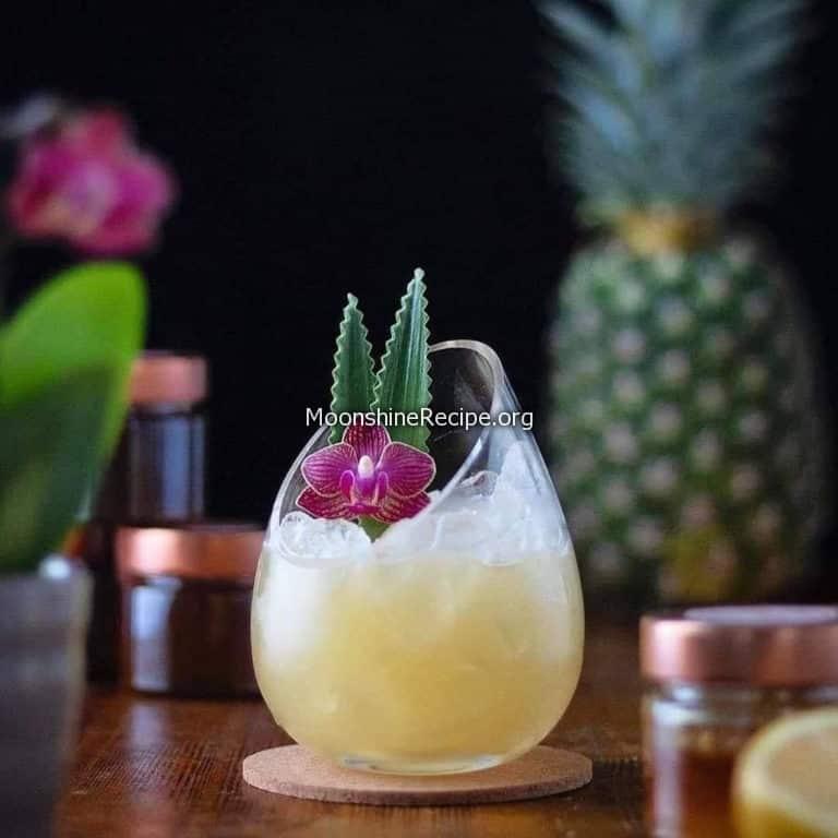 Chamomile Pineapple Lemonade