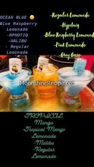 Malibu Mixed Drinks Tropical Malibu Cocktail