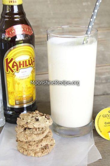 Boozy Coffee Milkshake