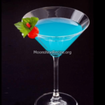 Blue Lagoon Martini