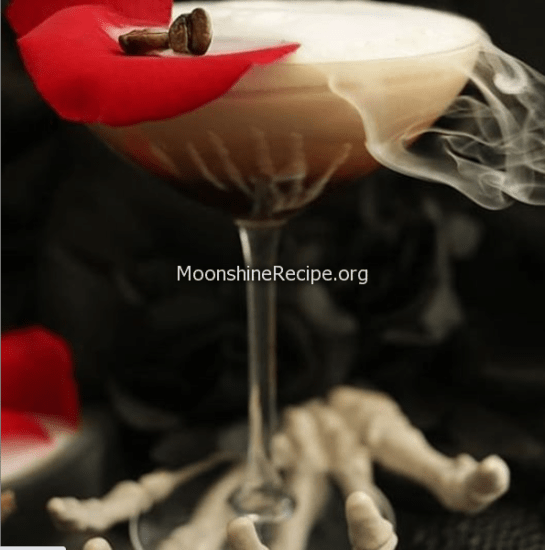 Chocolate Smoke Martini
