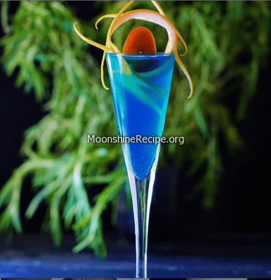 Carolina Blue Cocktail