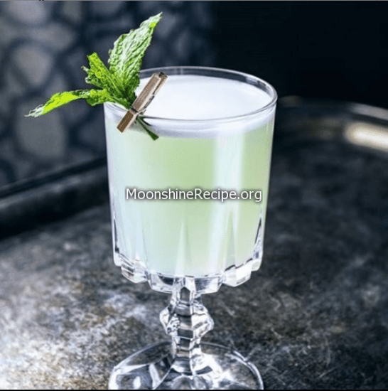 The Mint Syrup