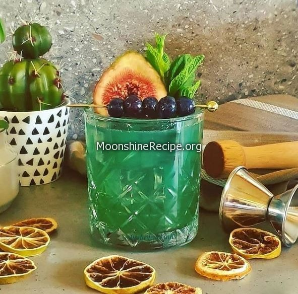 Blueberry Hill Cocktail