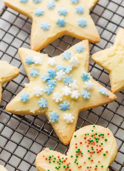 Almond Flour Sugar Cookies - A Saucy Kitchen