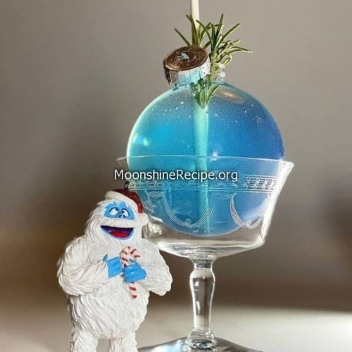 Abominable Blue Ball Cocktail