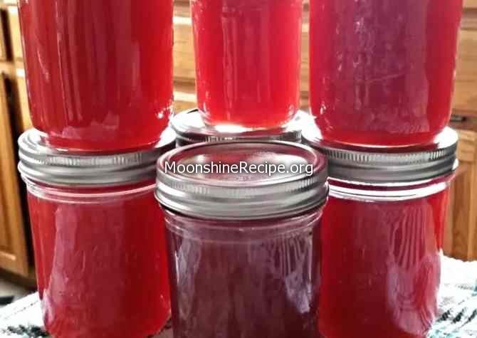 Raspberry Moonshine Recipe