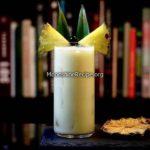 coconut cream pineapple cocktail