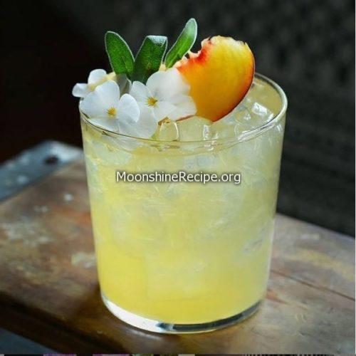 sage gold rush cocktail