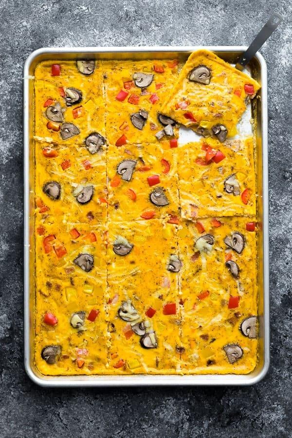 Sheet Pan Eggs (feeds a crowd)