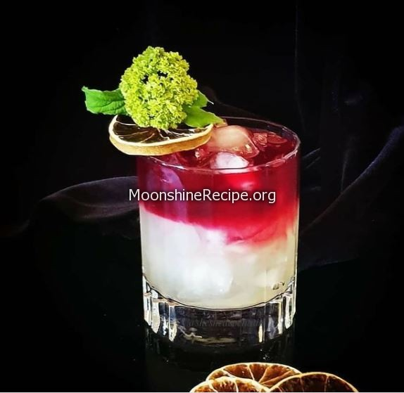 beet root lime cocktail
