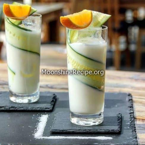 Gin Yogurt Cocktail