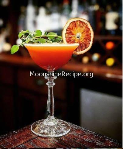 Honeyed Oregano Cocktail