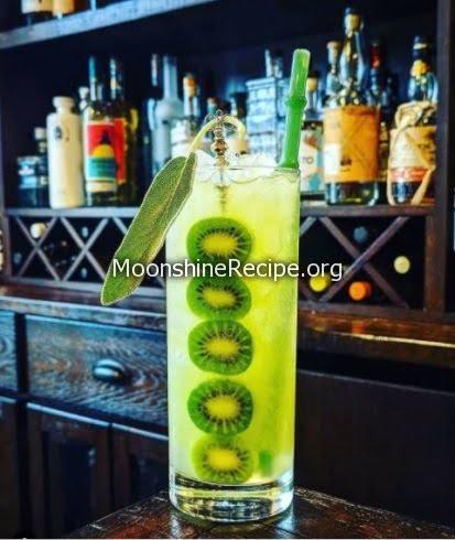 Kiwi Berry Mule Cocktail