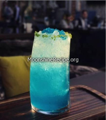 Sweet & Blue Cocktail