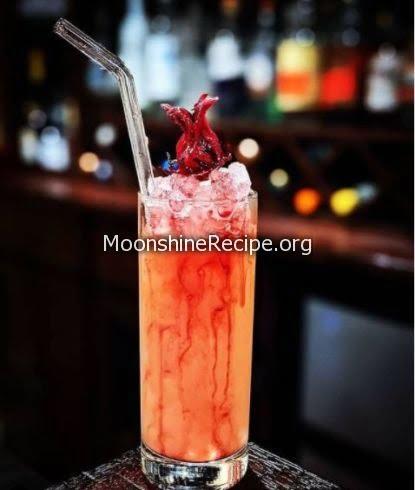 Tequila Mezcal Cocktail