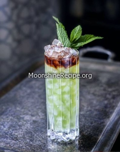 Absinthe Frappe Cocktail