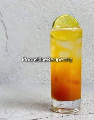 Black Seal Rum Cocktail