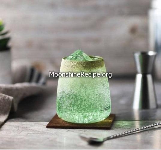 Matcha Soda Cocktail