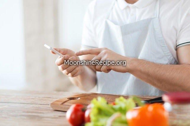 chef recipe chopping board