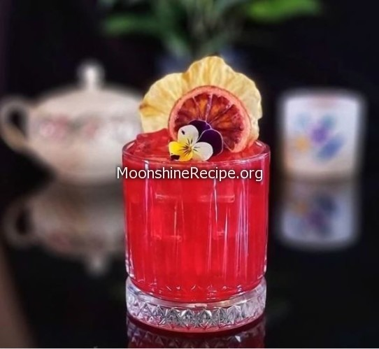 Blood Rush Cocktail